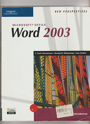 Vintage Microsoft Office Word 2003 - New Perspectives (Book-Pb)