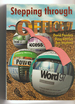 Vintage Stepping Through Office 97 + Student Disc (Book-Pb) - 1998 Edition
