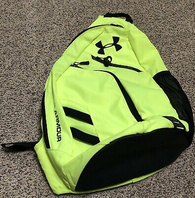 low priced 75fa9 daa6d Under Armour Compel Sling Yellow Backpack - Single Adjustable Strap