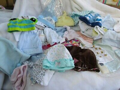 Bargain clearance! Reborn doll clothes and other type dolls. Hats galore!