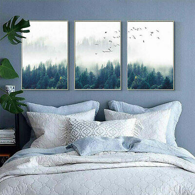 Wall Picture Home Decoration Forest Lanscape Wall Art Poster 1PC Nordic Canvas