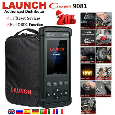 Launch X431 CR9081 KFZ OBD2 Scanner Diagnosegerät Code Reader Öl RDKS TPMS IMMO