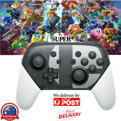 AU Wireless Bluetooth Pro Controller Gamepad For Nintendo Switch Super Smash Bro