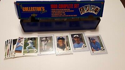 1989 Upper Deck UD Baseball Cards 1-250 (1-26 RC ) UPick You Pick From List Lot