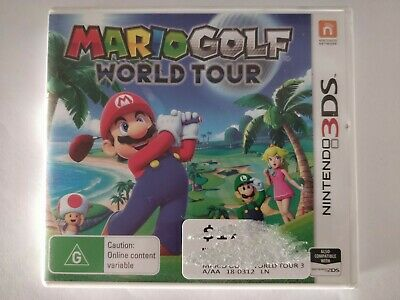 Mario Golf: World Tour - Nintendo 3DS - fast free post