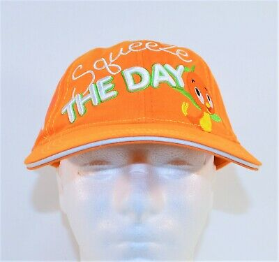 Walt Disney World Florida Orange Bird Squeeze the Day Baseball Cap Hat BRAND NEW