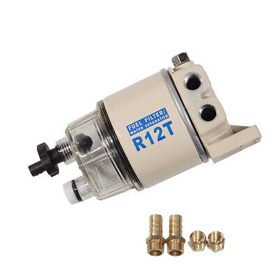 New For Racor Water Separator/ Fuel Filter R12T 120A Spin-on Replacement Element