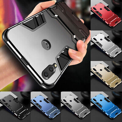 For Huawei Honor Play 7S 8X 9 10 20 Lite Hybrid Rugged Armour Stand Case Cover