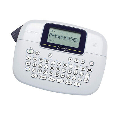 Handy LCD screen Label Maker P-Touch Labeller QWERTY Keyboard Printer