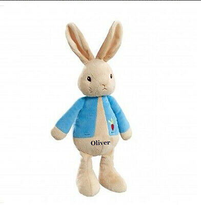 Personalised My First Peter Rabbit Beatrix Potter Soft Toy Baby Gift Newborn