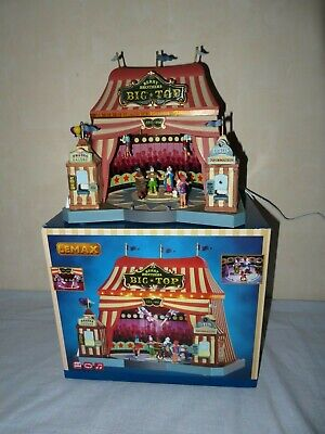 LEMAX-Berry Brothers BIG TOP-Animierter Circus mit Beleuchtung & Sound. OVP