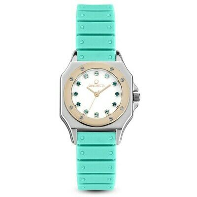 Ops Orologio Opsobjects Paris Stones Verde Acqua Ipr Donna Opspw-519