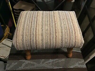 Vintage Spindle Leg Footstool