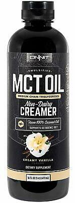 Onnit Emulsified MCT Oil   Keto Creamer - Mixes Easily into Keto Shakes and Food