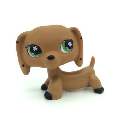 petshop pet shop LPS rare chien chat européen colley teckel dog cat série#MBD