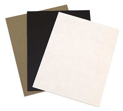 Grafix Chipboard Classroom Pack, 8-1/2 x 11 inches, Assorted Colors, 48 sheets