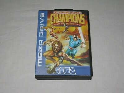 Eternal Champions - SEGA Mega Drive - Case/Sleeve Only - No Game - PAL - Vintage