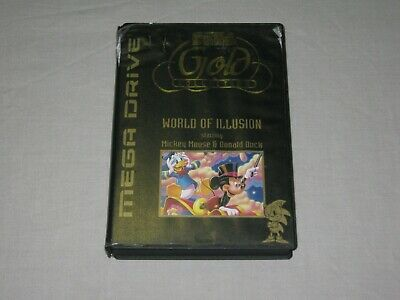World Of Illusion - SEGA Mega Drive - Case/Manual/Sleeve Only - No Game - PAL