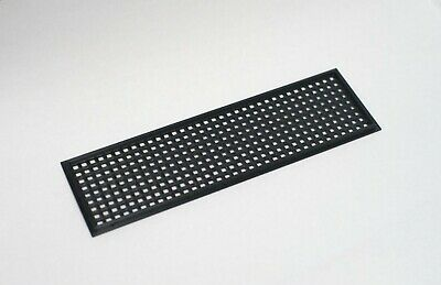 Improved Black Universal 3D Printed Customisable IO Shield Motherboard Plate