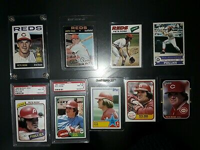 Pete Rose 1964Topps #125 Rookie And  Great Lot