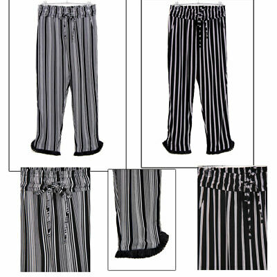 ASBAH New Women's High Waist Fitted Flared Frill Trouser Hem Ruffle Palazo Pants