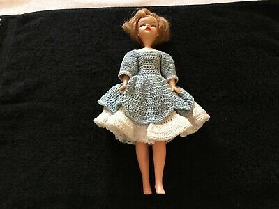 Vintage Ideal Toy  1960's Tammy Doll BS-12 Blonde Hair Blue Eyes 12 Inch Plastic