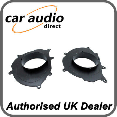 Connects2 CT25RT08 Renault Clio Megane 2013> Front Rear Doors 16.5cm Adapters