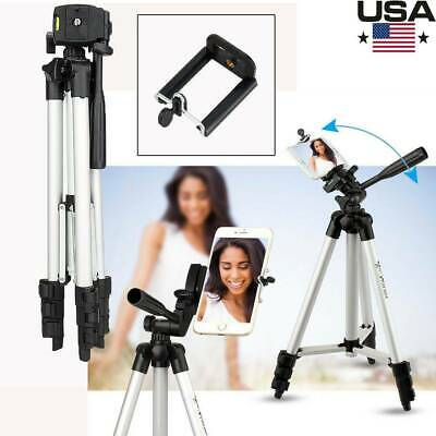 Flexible Aluminum Portable Tripod Stand With Bag For Canon Nikon DSLR Camera