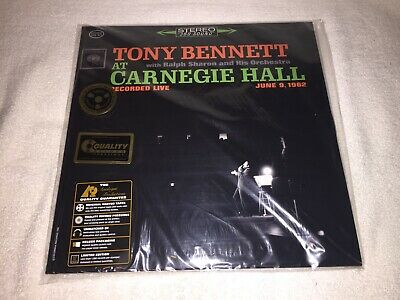 Tony Bennett at Carnegie Hall Recorded Live 2xLp  Analogue Productions Sealed