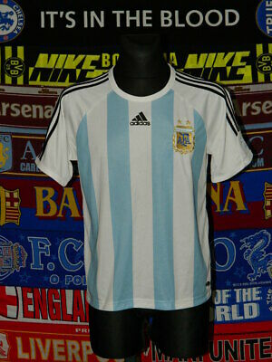 4.5/5 Argentina adults M 2008 home football shirt jersey trikot soccer