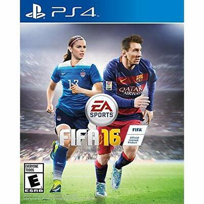 FIFA 16 Standard Edition For PlayStation 4 PS4 Soccer Very Good 9E