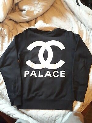 4628352c8578 Palace Black M Sweater RARE GRAIL - worn, slight cracking great condition
