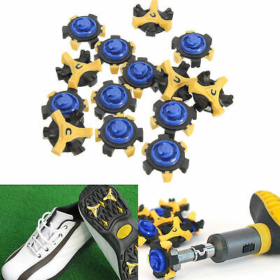 14Pcs Golf Shoe Spikes Replacement Champ Cleat Fast Twist Tri-Lok For Footjoy
