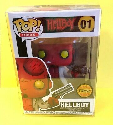 FUNKO HELLBOY POP #01 WITH HORNS CHASE NEW USA SELLER