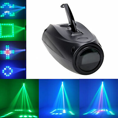 Music Active RGB LED Lights Laser Stage Effect Lighting Club Disco Party Bar CZ