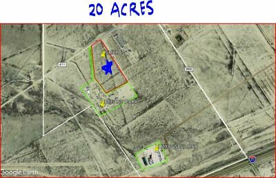 20 acre lot in Reeves County, Texas. Oil and Gas Property!