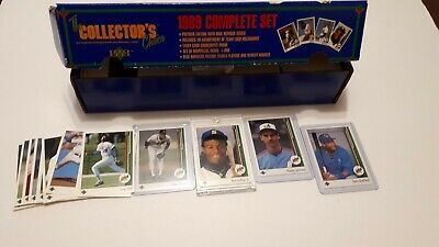 1989 Upper Deck UD Baseball Cards 501-700 UPick You Pick From List Lot