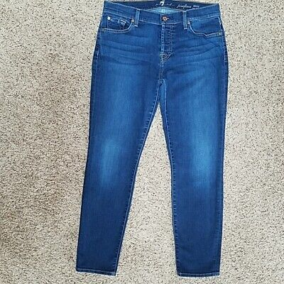 NWT Seven 7 For All Mankind Skinny Womens Roxanne Jeans MSRP $198