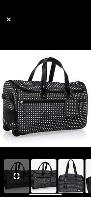 Thirty One Wheels Up Rolling Luggage Ditty Dot Brand New