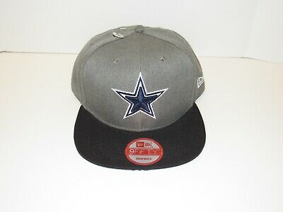 separation shoes cdfca 17144 Dallas Cowboys New Era 9FIFTY NFL Snapback Hat Cap Gray Vintage Collection