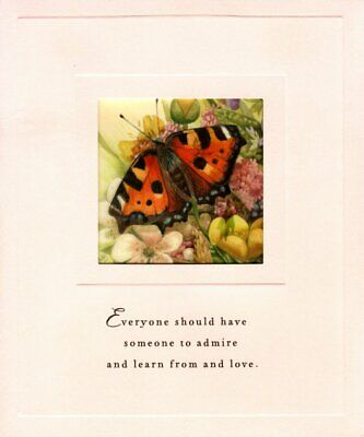 Happy Birthday Mom Cheery Butterfly Monarch Marjolein Bastin Hallmark Card