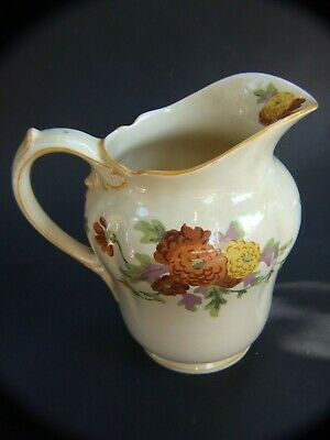 Gorgeous Antique ROYAL DOULTON 'MARIGOLD 'Pottery Water Jug Floral Design 1920's