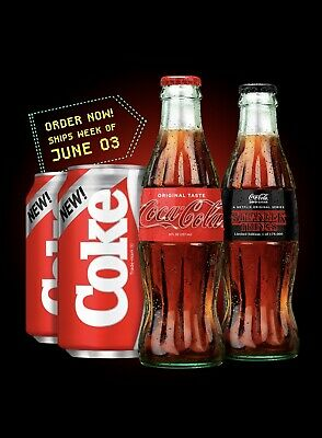 Stranger Things Coke Coca Cola 1985 Limited Edition Collectors Pack
