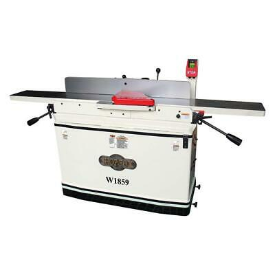 Shop Fox W1859 8-Inch x 76-Inch 3-Hp Parallelogram Jointer w/ Mobile Base