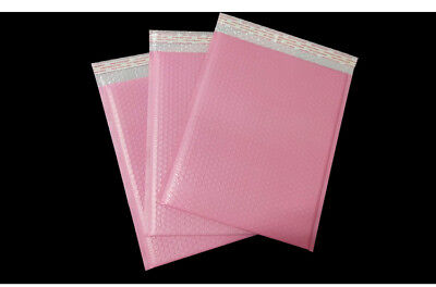 Pastel Pink 16x28cm Bubble Mailers Padded Shipping Mailing Envelopes AU stock