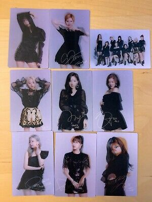 TWICE Lenticular Photocard Official Goods TWICELIGHTS Concert World Tour 2019