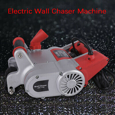 Anti-locking Electric Wall Chaser Machine for Brick Wall Cutting Groove 1100W US