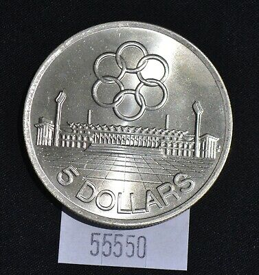 West Point Coins ~ 1973 Singapore 5 Dollars Seventh SEAP Games Silver
