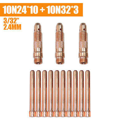 Torch 17//18//26US Seller Fast Ship 5-pk TIG Welding Collet Body 10N32 3//32/""