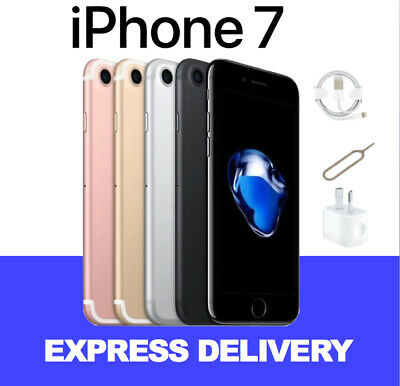 NEW iPhone 7 32GB 128GB 256GB 4G 100% Factory Unlocked Smartphone Express
